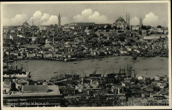 View of the Golden Horn Istanbul Turkey Greece, Turkey, Balkan States
