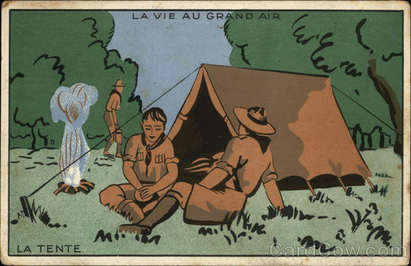 La Vie au Grand Air- La Tente Paris France Boy Scouts