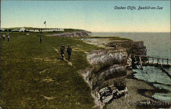 Cooden Cliffs Bexhill-on-Sea England Boy Scouts