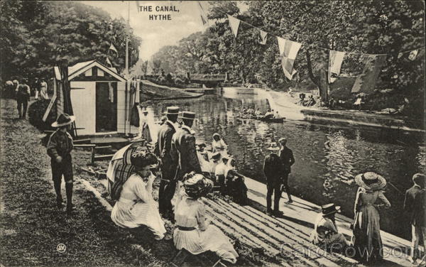 The Canal Hythe England Kent Boy Scouts