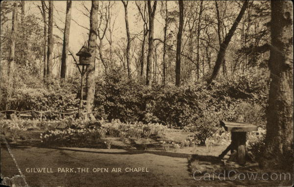 The Open AIr Chapel, Gilwell Park Sewardstonebury England