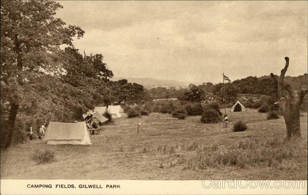 Camping Fields, Gilwell Park London United Kingdom