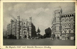 The Majestic Hotel and Waterloo Mansions, Bombay