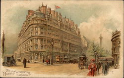 The Hotel Metropole, With Street Scene
