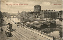 The Liffey and Four Courts, Dublin