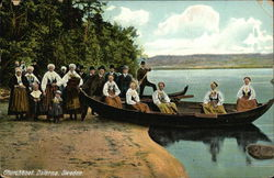 Young Girls on a Churchboat