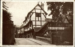 View of Priory Row, Coventry Postcard