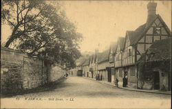 View of Mill Street, Warwick Postcard