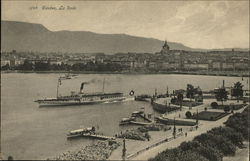 View of La Rade, Geneva