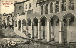The Old Arcades at the Landing Place