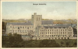 View of Bangor University, Wales