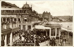 Spa Bandstand Postcard