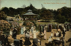 The Band and Spectators at Sefton Park