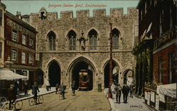 Bargate (below Bat) Postcard