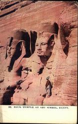 Rock Temple at Abu Simbel Postcard