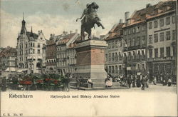 Højbro Plads and Bishop Absalon Statue