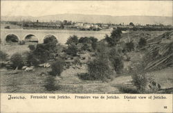 Distant View Of Jericho.