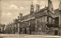 Oxford, Examination Schools Postcard
