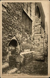 Charterhouse, the Lay Brothers' Entrance to the Monastic Church Postcard