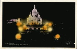 Sacre Couer at Night