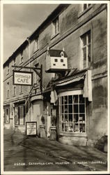 Cotswold Cafe Postcard