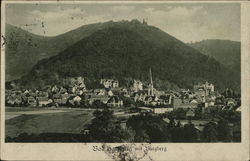 View of Town with Burgberg