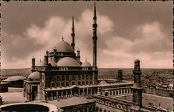 Mohamed Ali Mosque - The Citadel Postcard