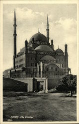 Cairo - The Citadel/Mohamed Ali Mosque
