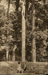 Gilwell Park - The Boy Totem Postcard