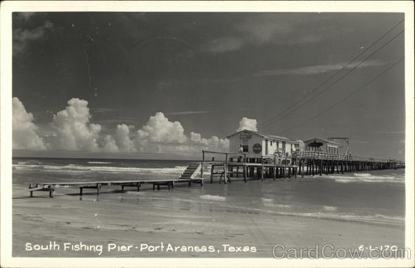 South Fishing Pier Port Aransas Texas