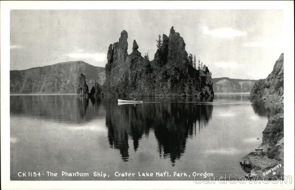 The Phantom Ship Oregon Crater Lake National Park