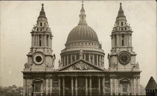 St Paul's Cathedral London England