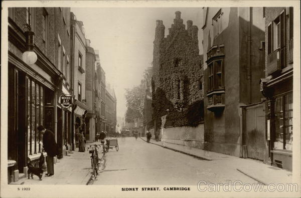 Sidney Street View Cambridge England Cambridgeshire