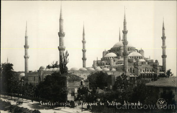 Sultan Ahmed Mosque Istanbul Turkey Greece, Turkey, Balkan States