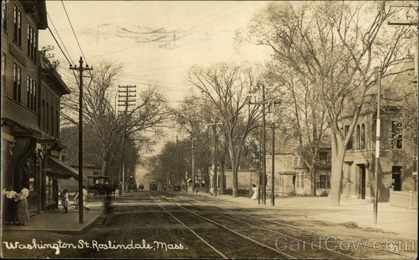Washington Street View Roslindale Massachusetts