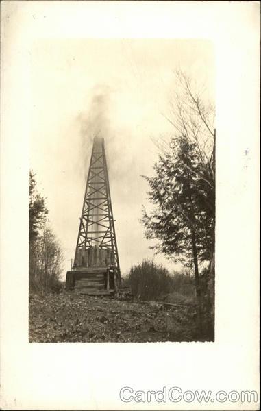 Gusher Oil Well Oil WellsOil Well Gusher