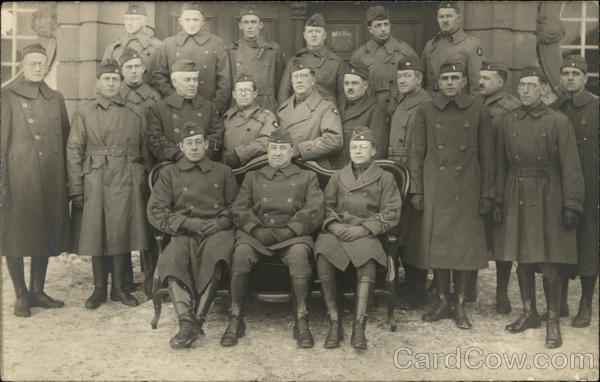 Portrait of Soldiers Military