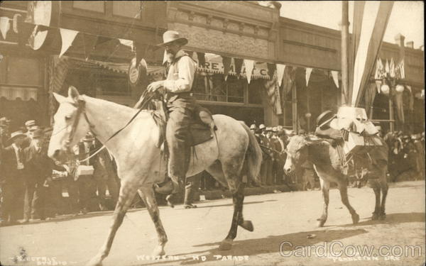 Pendleton Round-Up Parade Oregon