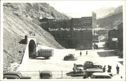 Cars and Trucks at Tunnel Portal
