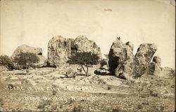 Scene in the City of Rocks