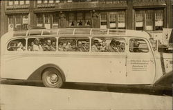 1950's Bus in Hamburg Germany