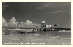 South Fishing Pier Postcard