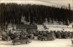 Sunday Crowd at Berthoud Pass Ski Lodge