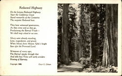 Redwood Highway by Oscar G. Gibson