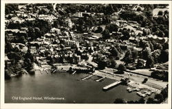 Old England Hotel - Aerial View