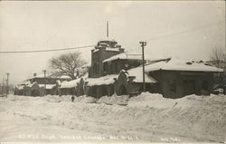 Snow Covered Depot - December 7, 1913