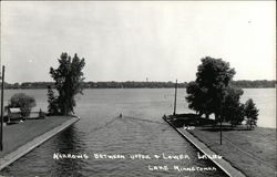 Lake Minnetonka - Narrows between Upper & Lower Lakes