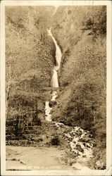 Cascades of the Wah-Kee-Na, Wahkeena Falls