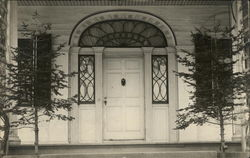 Front Door of Home