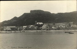 View of Town Perce Postcard